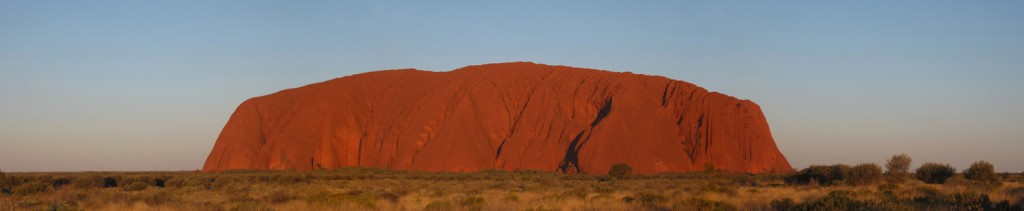 Panorama of Uluru, Australia. Source, Wikimedia