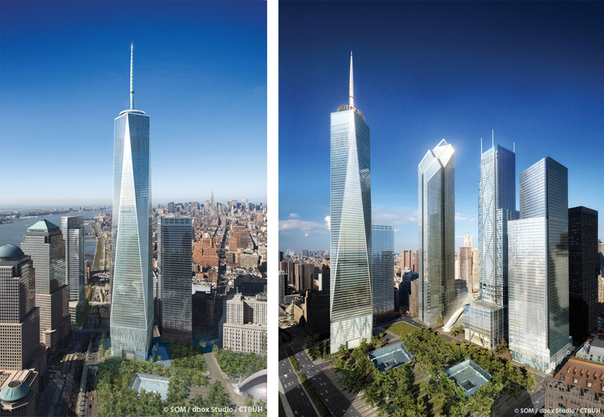 One World Trade Center. Image from Redesign Revolution http://www.redesignrevolution.com/wp-content/uploads/2012/06/One-World-Trade-Center-1.png