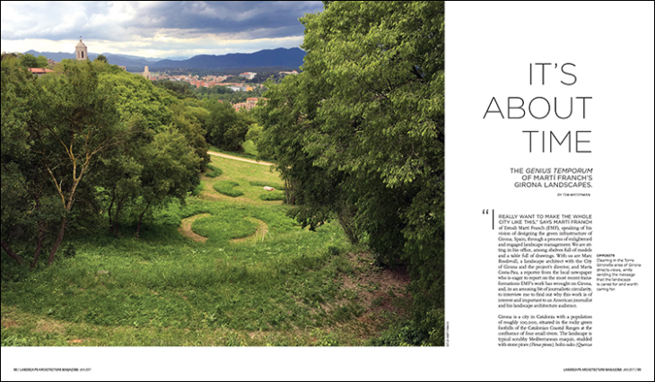 This article first appeared in the January 2017 issue of Landscape Architecture Magazine